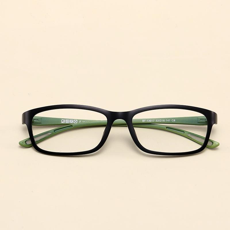 Bentuk persegi bingkai kacamata Pria dan wanita Gaya Korea pasang Retro  casual Sangat Ringan wajah bulat 552a940c91