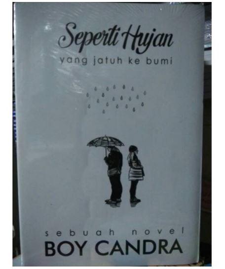 Novel Seperti Hujan Yang Jatuh Ke Bumi - Boy Candra