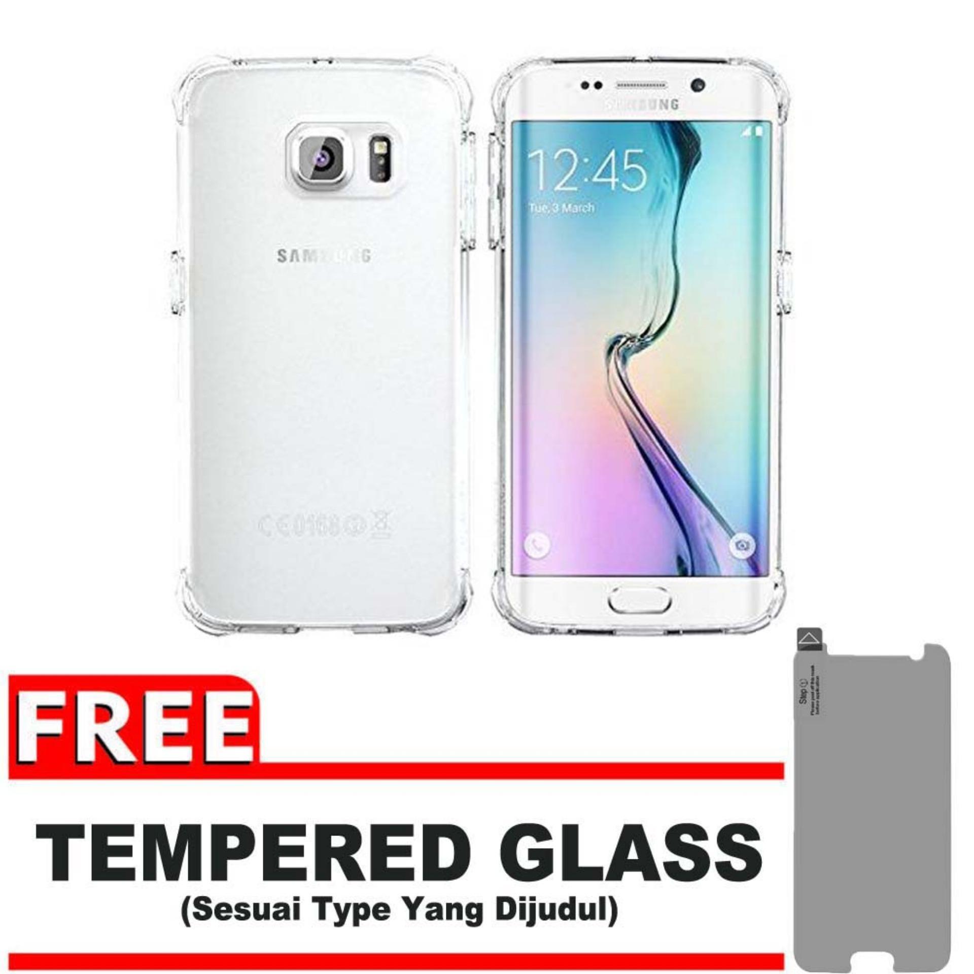 Cek Harga Baru Tpu Edge Samsung Galaxy Note 5 N920 Duos Lte Anti Gores Shock Screen Protector S7 Full Depanbelakang Shockcase For S6 G925 4g Premium