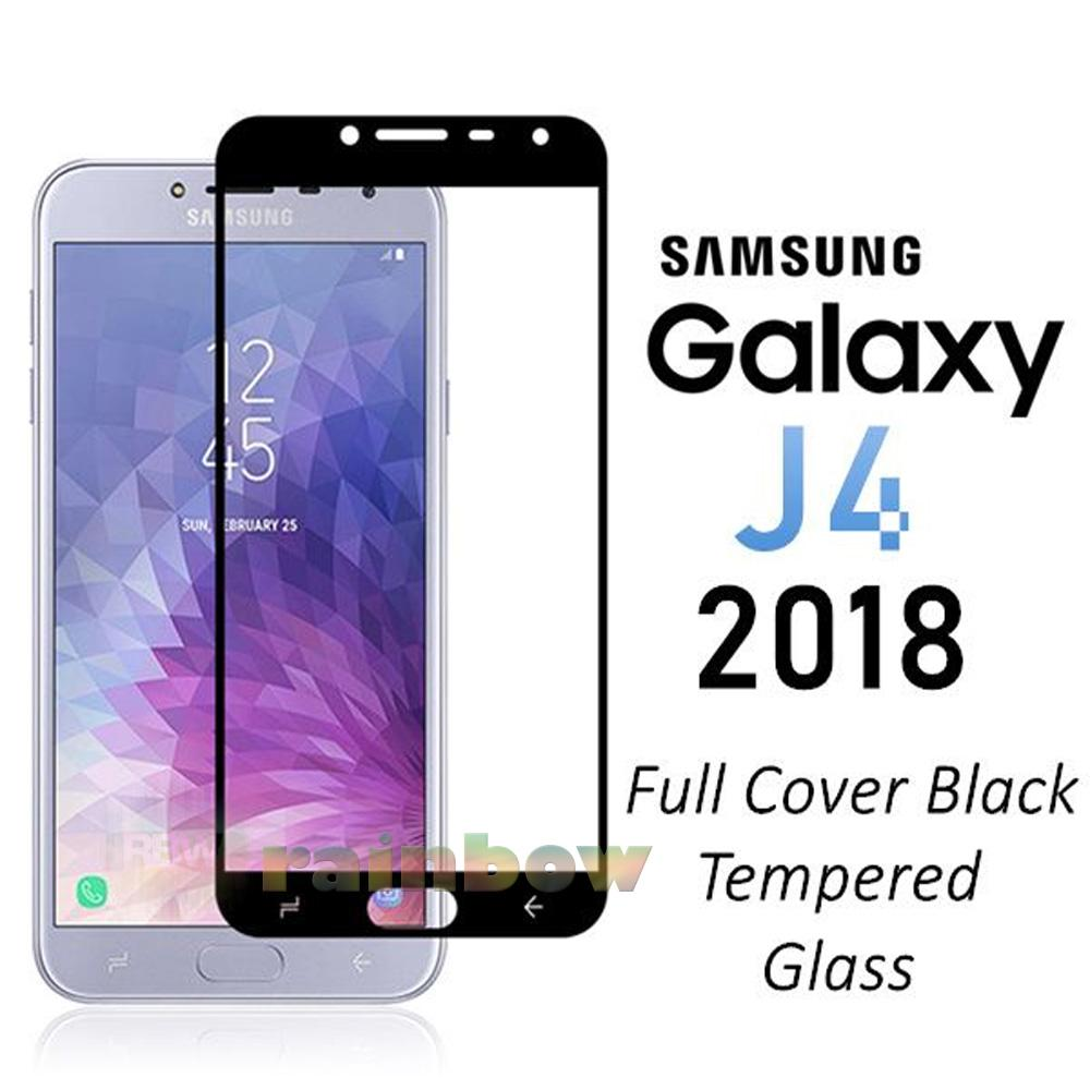 Kelebihan Poluca Tempered Glass Screen Protector Anti Gores Kaca Samsung J1 2016 Pelindung Layar Rainbow Galaxy J4 2018 Full Black Temper