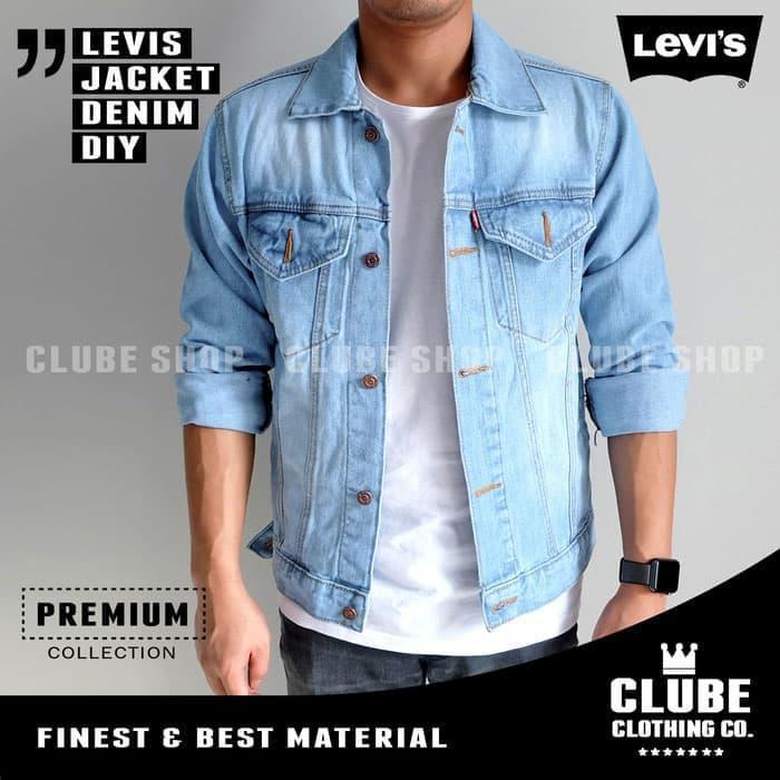 jaket pria / jaket jeans / jaket denim / jaket levis