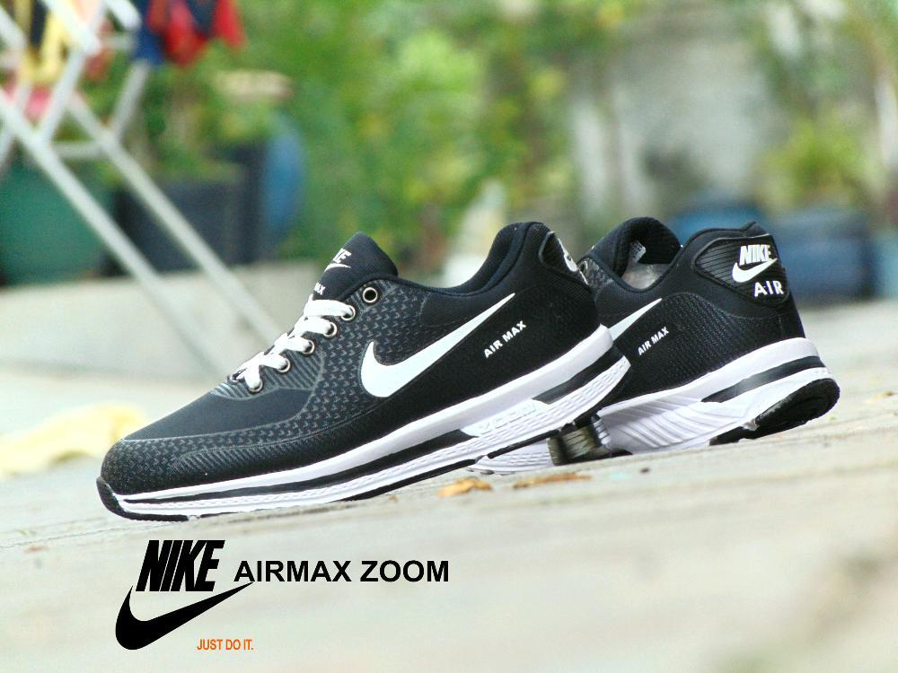 Sepatu Pria  Sepatu Sneakers  Sepatu Airmax Hitam Putih  Sport Casual  Pria  Wanita a7de8496ea