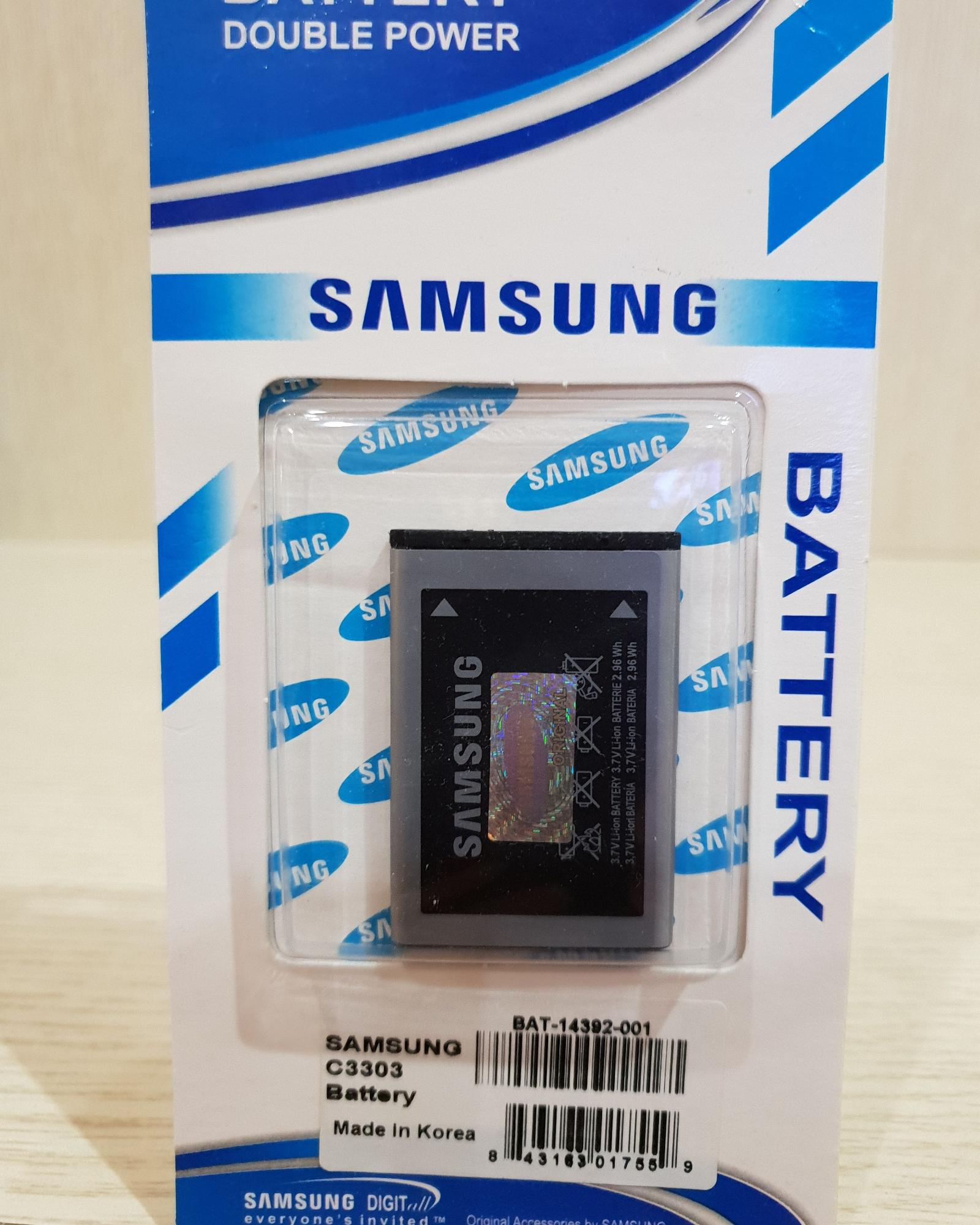 Baterai battery batre Original Samsung Galaxy Champ C3303
