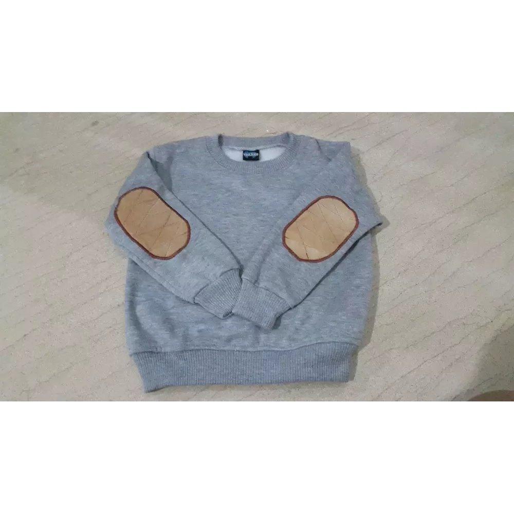 Jaket Sweater Abu Anak Balita Bayi Newborn Umur 12-36bulan (1th - 3th)