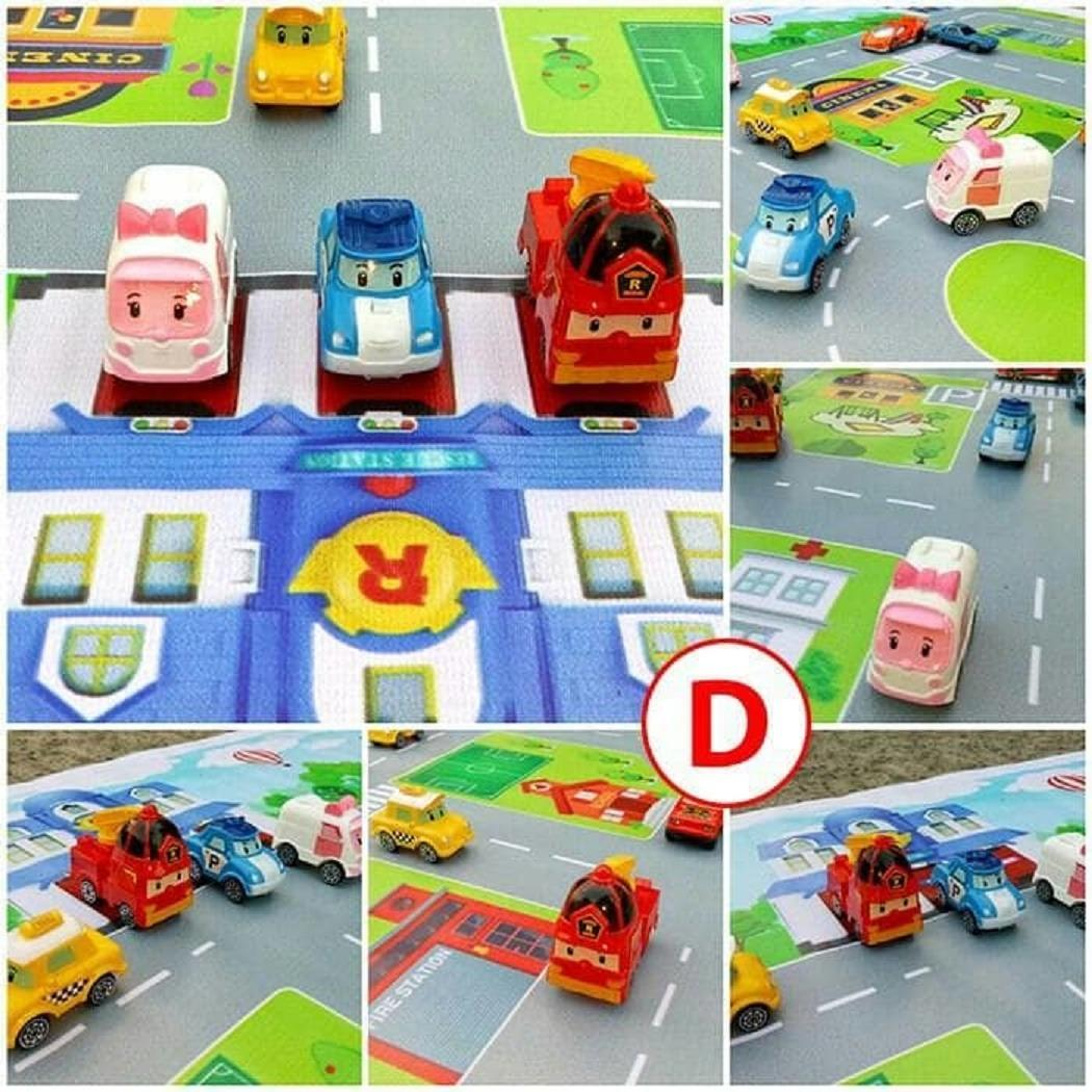 ... grosir Mainan Maps Jalanan Mobil Bis Bus Tayo / Cars / - Edukasi/ cocok buat