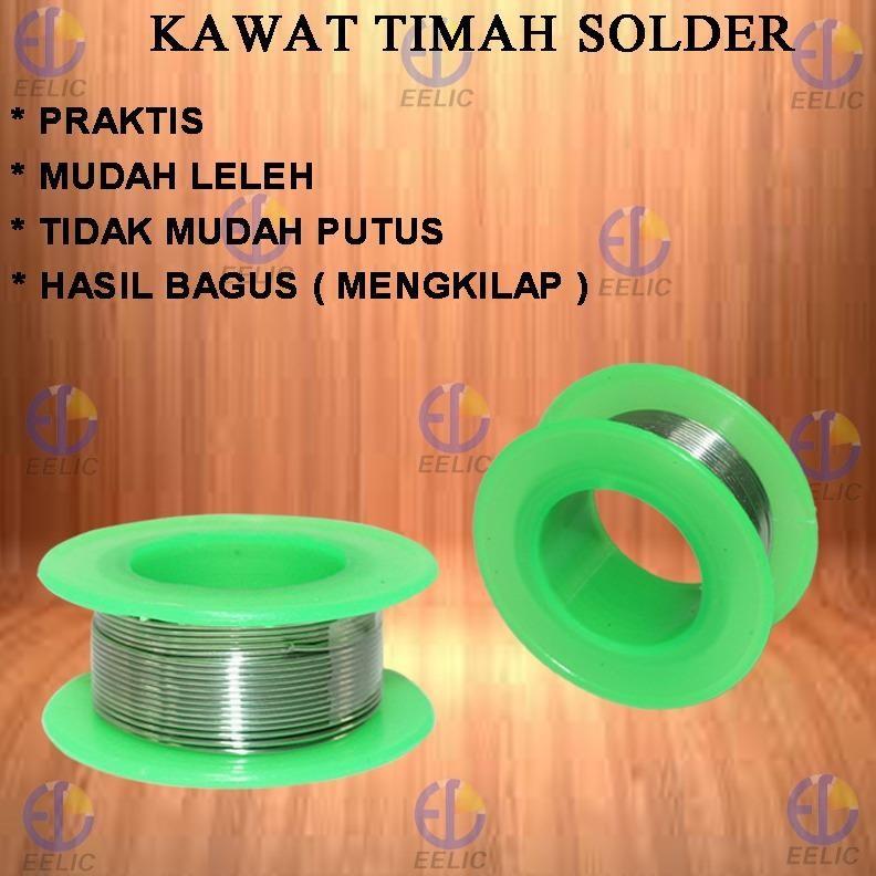EELIC KAT-10M Kawat Timah Solder 10 Meter SOLDER WIRE KAWAT SOLDER .