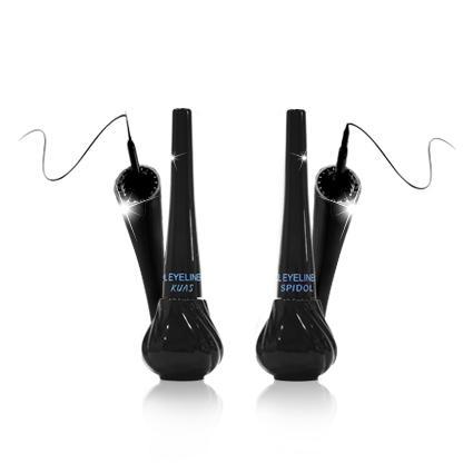 Detail Gambar Ql Cosmetic Liquid Eyeliner Waterproof 8 ml / Liquid Eyeliner Waterproof 8ml Ql Cosmetic / Eyeliner Kuas Waterproof 8 ml Ql / Eyeliner ...