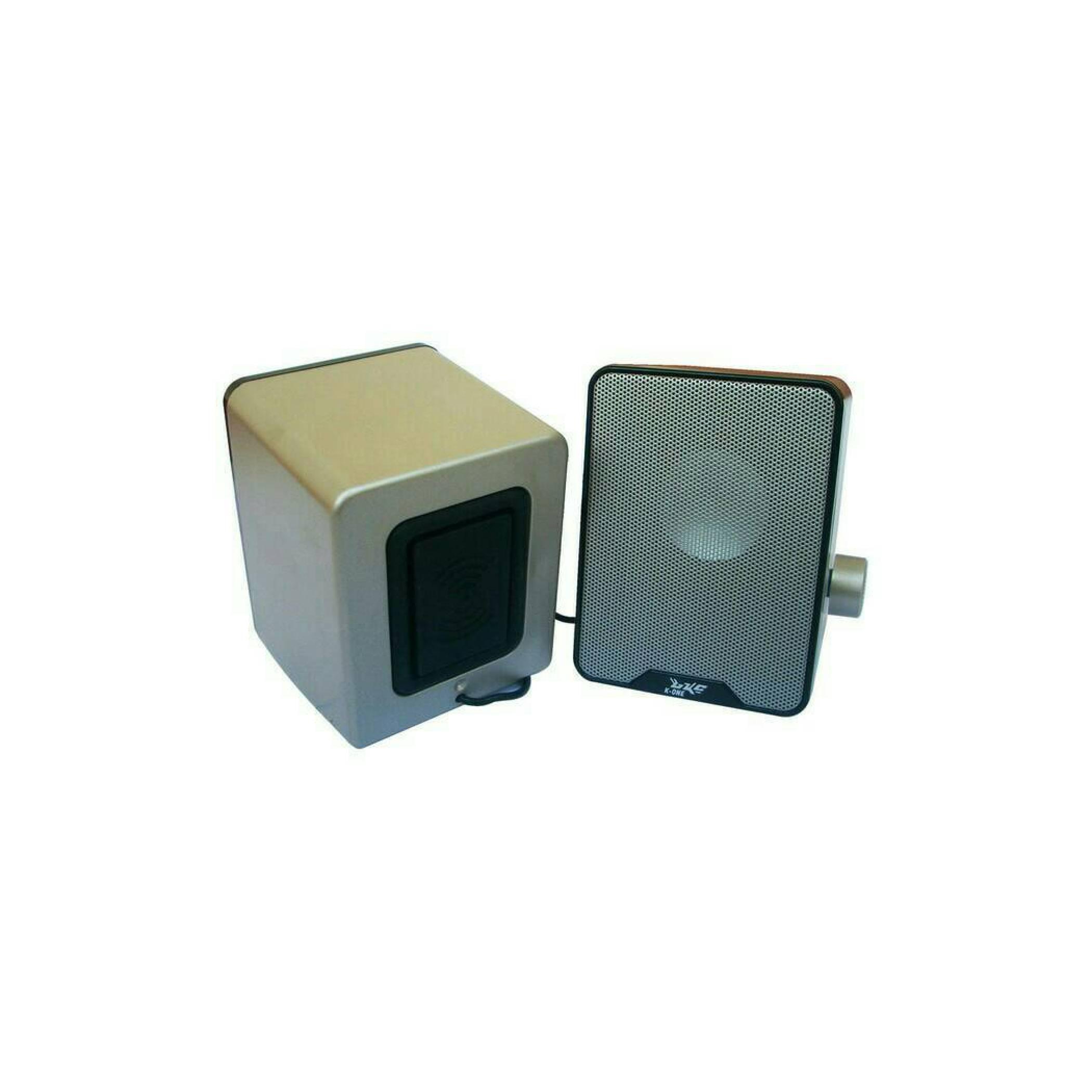 Speaker Multimedia USB 2.0 K-ONE SW-280 Jernih & Bass