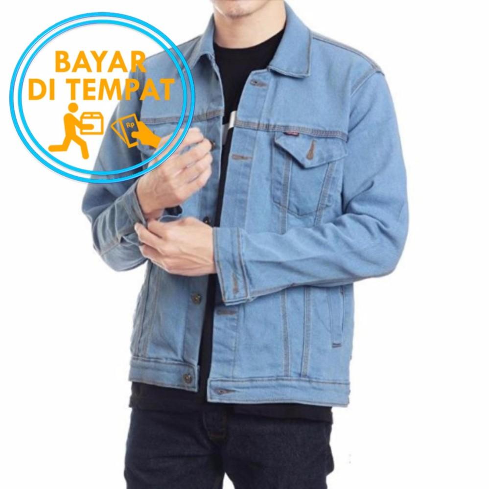 Toko Jaket Jeans Murah Biru Langit Best Seller Terlengkap Di Indonesia