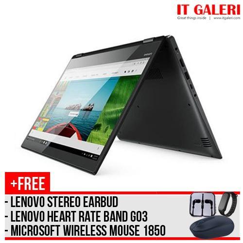 Lenovo Yoga 520 8Pid Ci5 8250U 8Gb 1Tb 14 Win10 Free Wmm 1850 Hrb G03 Earbud Lenovo Diskon 50