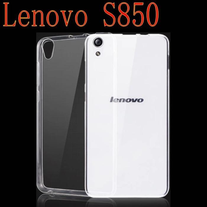 Imak Ultra Thin TPU Case For Lenovo S850 - Transparent