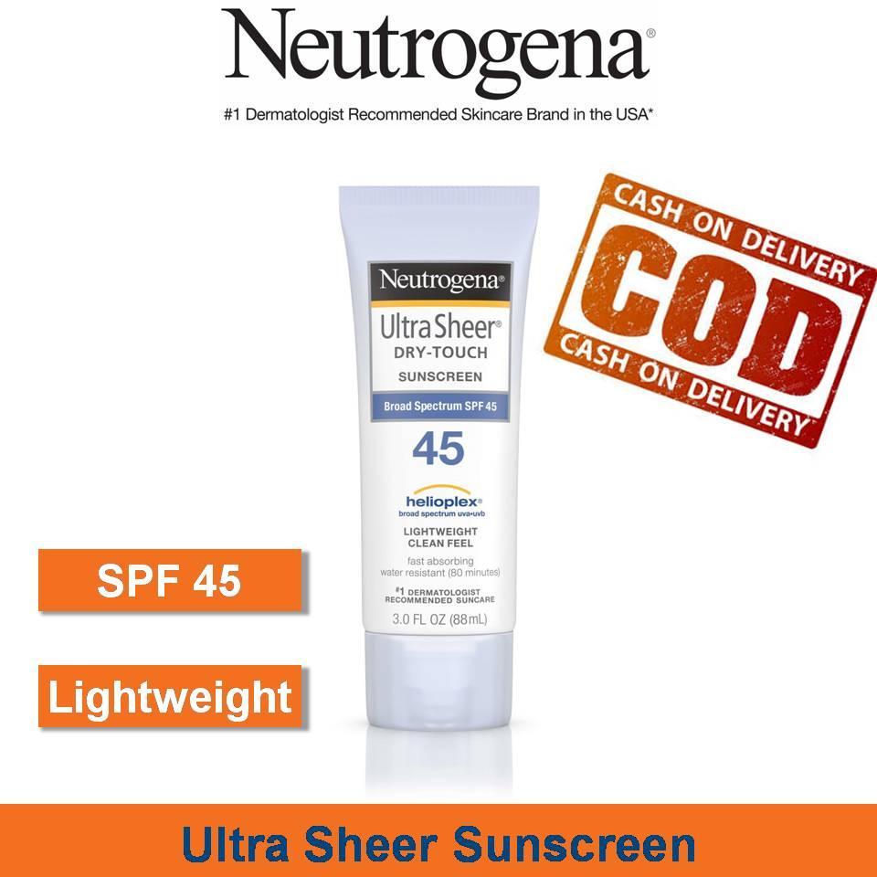 Cek Harga Baru Heliatech Suncreen Parasol Spf 45 Sunscreen Lotion 30 Neutrogena Ultra Sheer Dry Touch 88ml