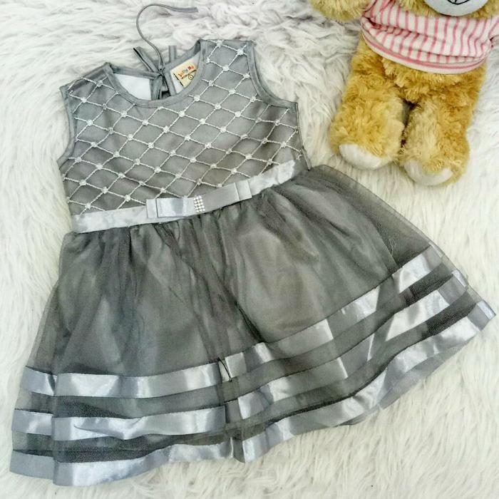 Spesifikasi Dress Baju Bayi Anak Stripe Missy Dan Harga
