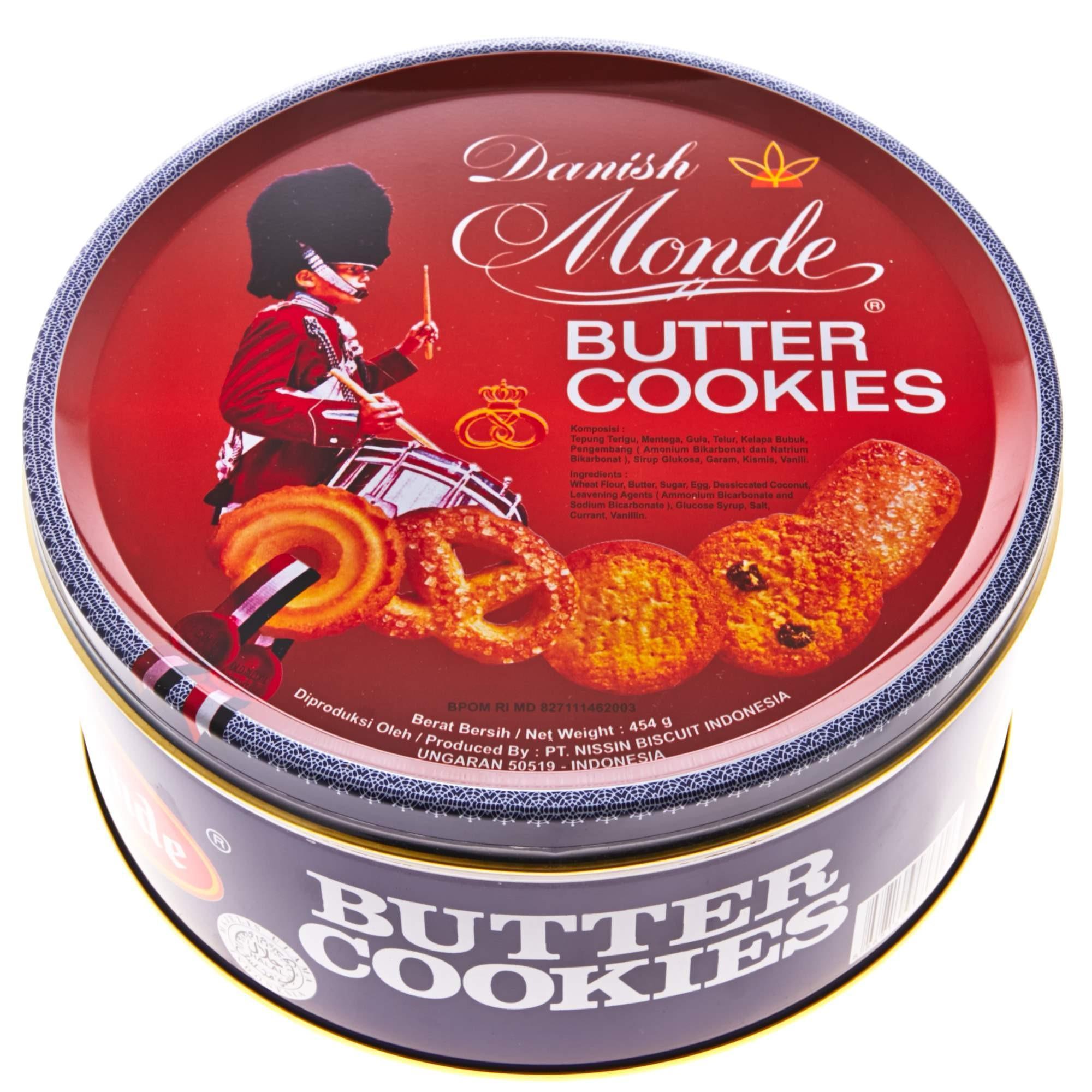 Harga Monde Butter Cookies Blue 454G Yg Bagus