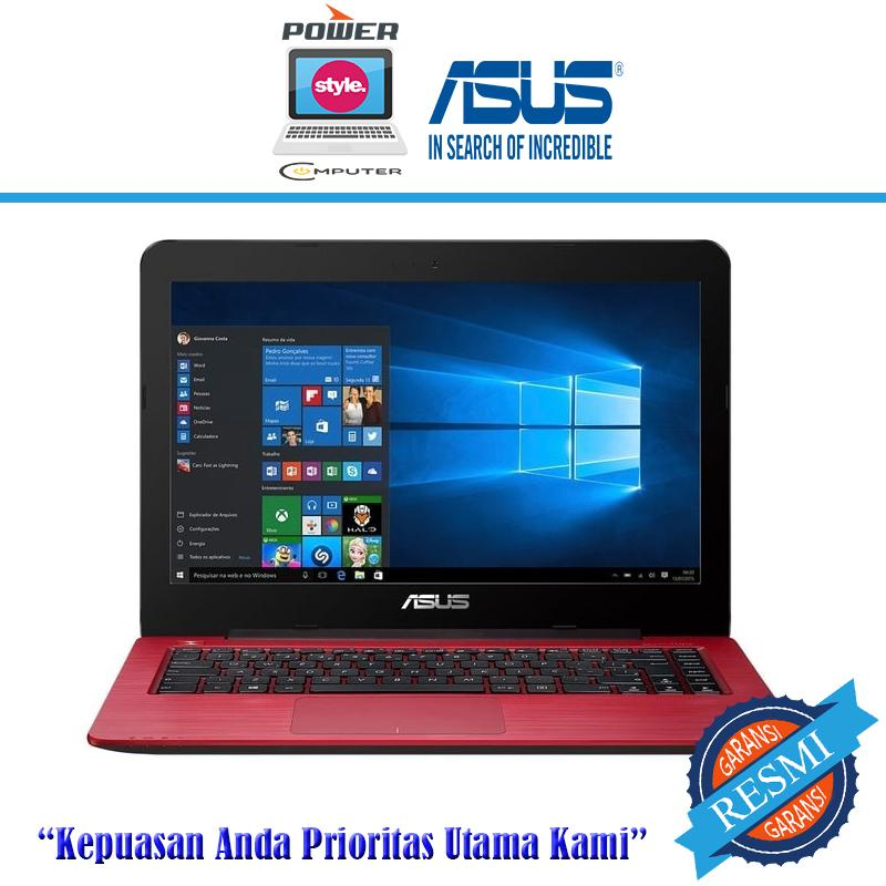 ASUS X441UV-WX093T - I3 6006U-4GB-1TB-GT920MX 2GB-WIN10-14HD- RED