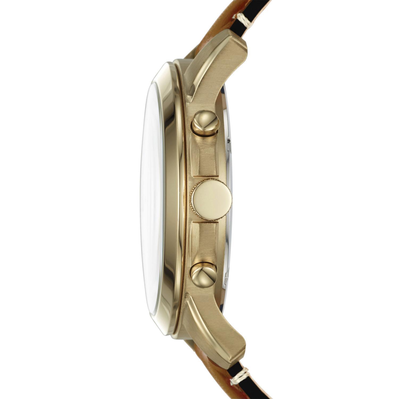 Fossil Jam Tangan Pria Fs4813 Grant Chronograph Brown Leather Fs4735 Detail Gambar Fs5268 Sport Luggage Watch Terkini