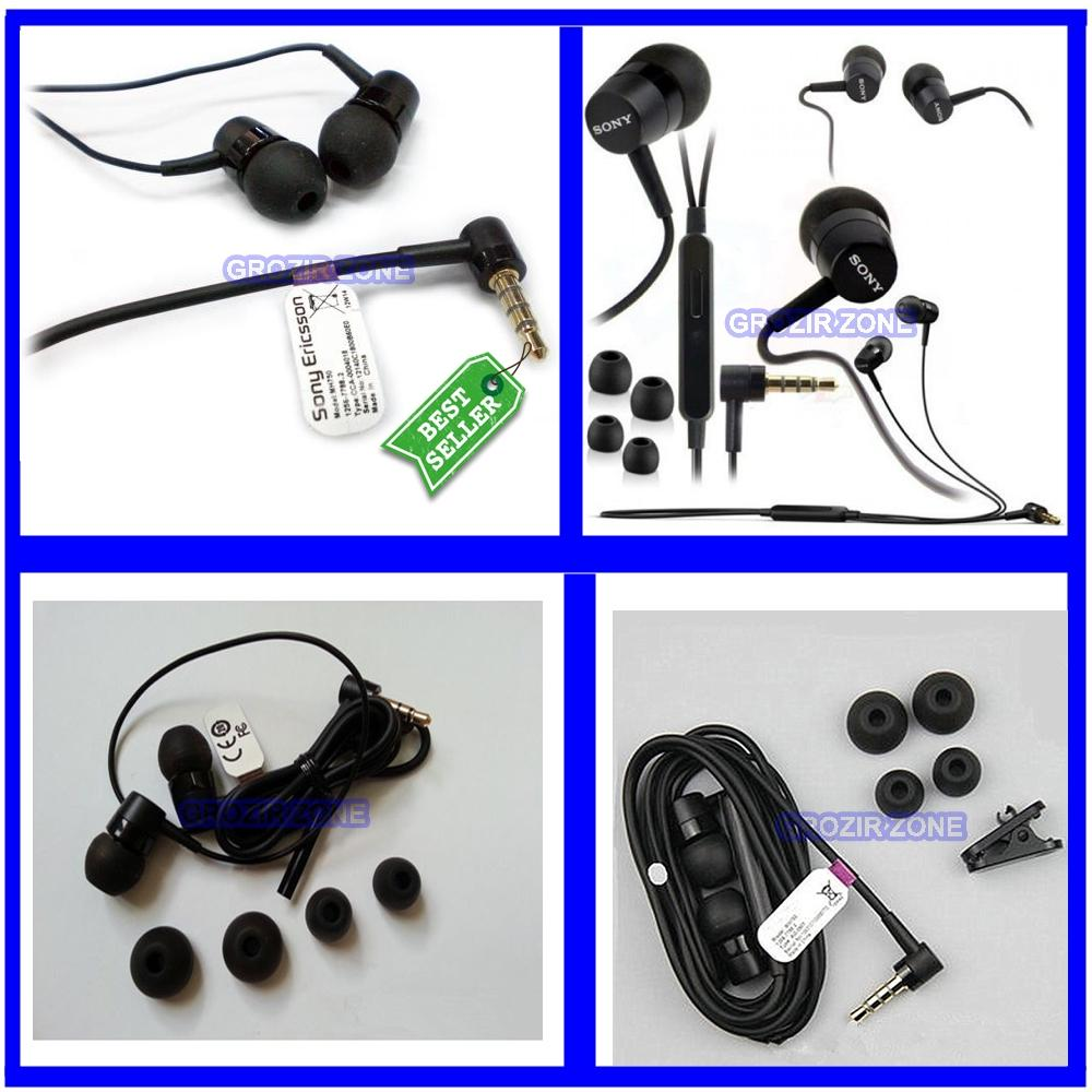 Sony Handsfree / Headset For Sony MH-750 All Sony Stereo IN EAR 3.5MM