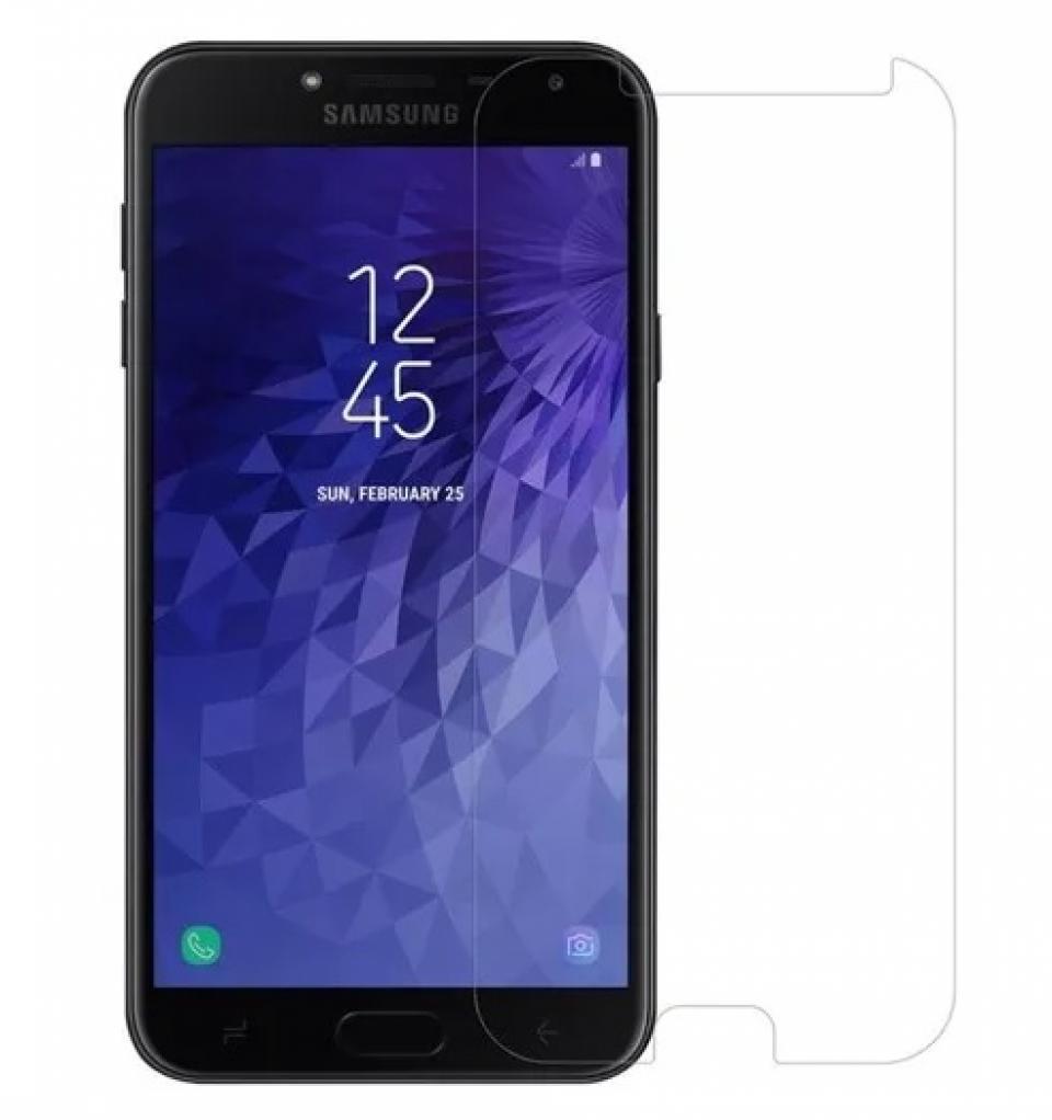 Poluca Tempered Glass Screen Protector Anti Gores Kaca Samsung Galaxy J4 ( 2018 ) - Clear