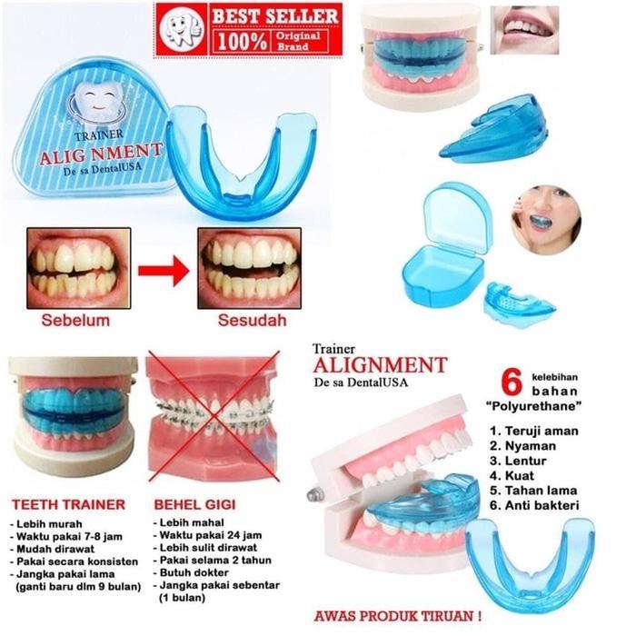 Behel Gigi - Orthodentic Retainer Teeth Trainer Allignment   Breket Behel  Gigi   Behel Gigi Lepas 1ea16bb898