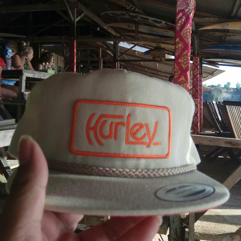 Topi Snapback Hurley Logo White Nevy Premium - Smart4K Design Ideas 6d9df512e7