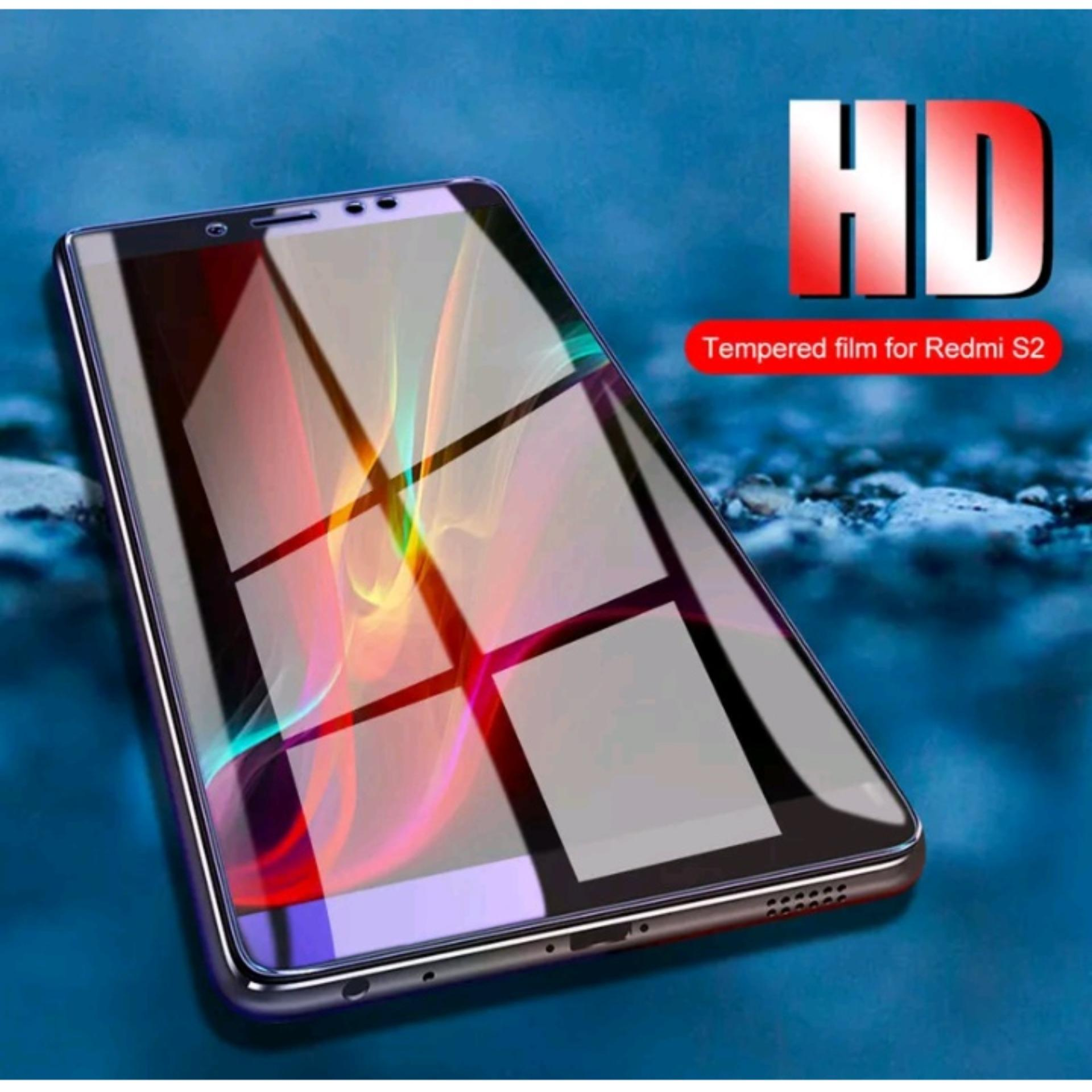Detail Gambar HD Tempered Glass Xiaomi Redmi S2 New 5D Full Screen List Hitam Terbaru