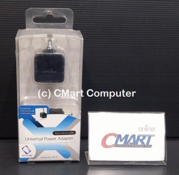 Capdase Atom 1A USB Power Adapter - Micro USB - AD00-AC01-EU