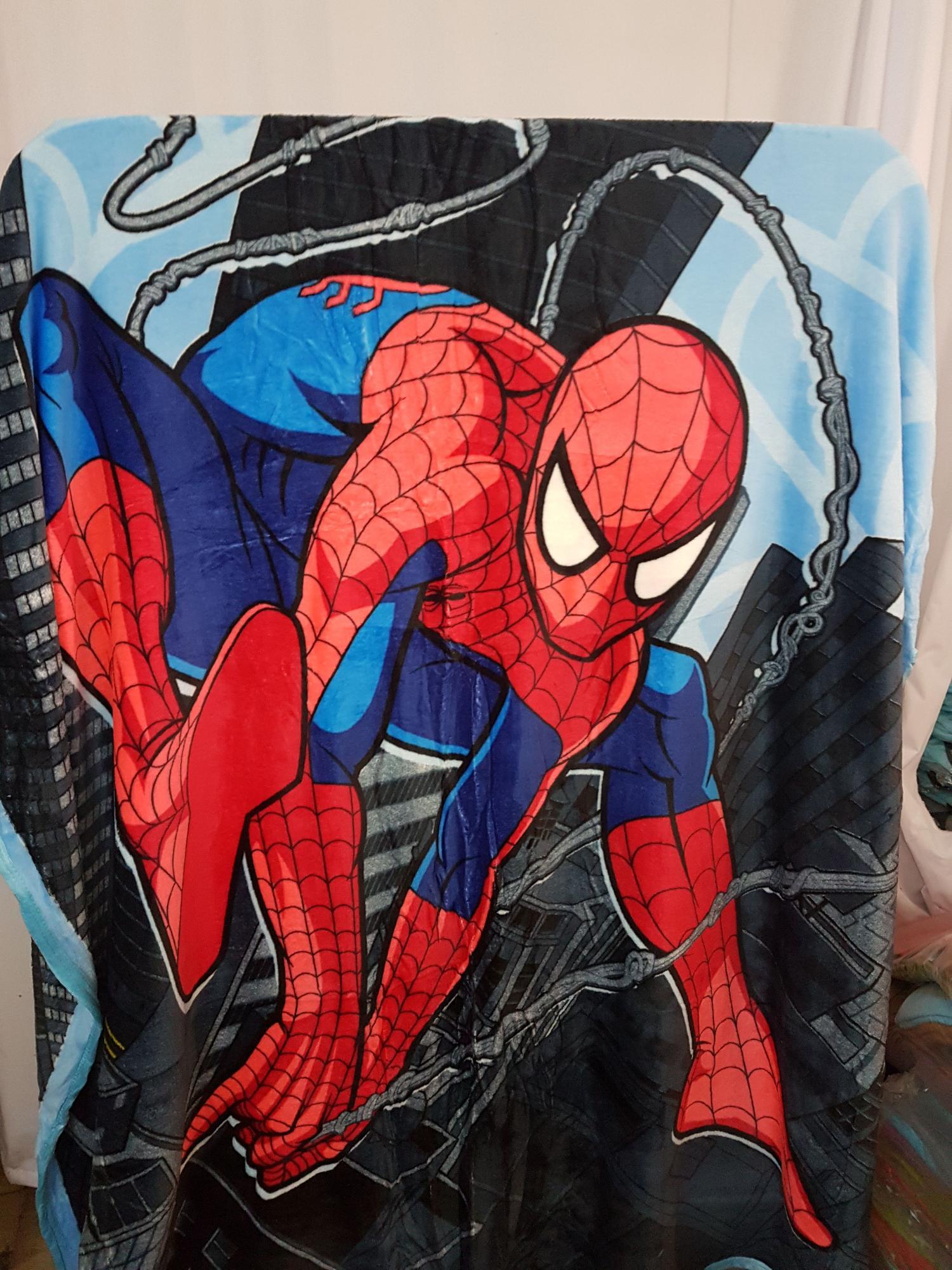 Detail Gambar Selimut Bulu Anak-anak 150x200 Spiderman Terbaru