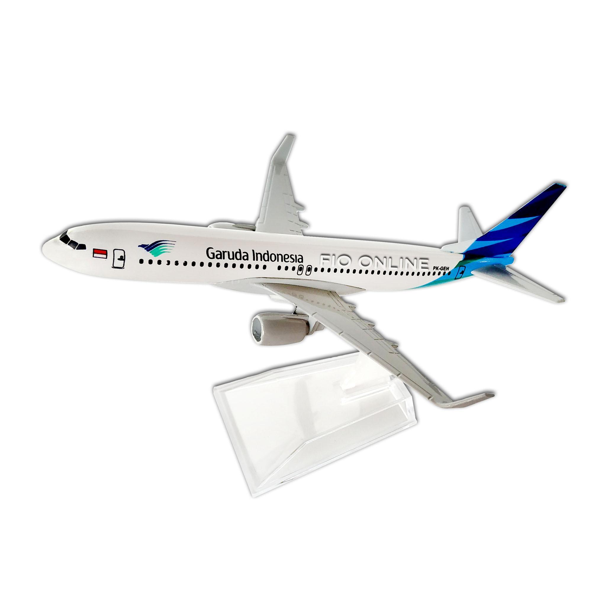 Kelebihan Miniatur Pesawat B737 800ng Garuda Terkini Daftar Harga Diecast Citilink Fio Online Souvenir Model Aircraft Indonesia Boeing 737