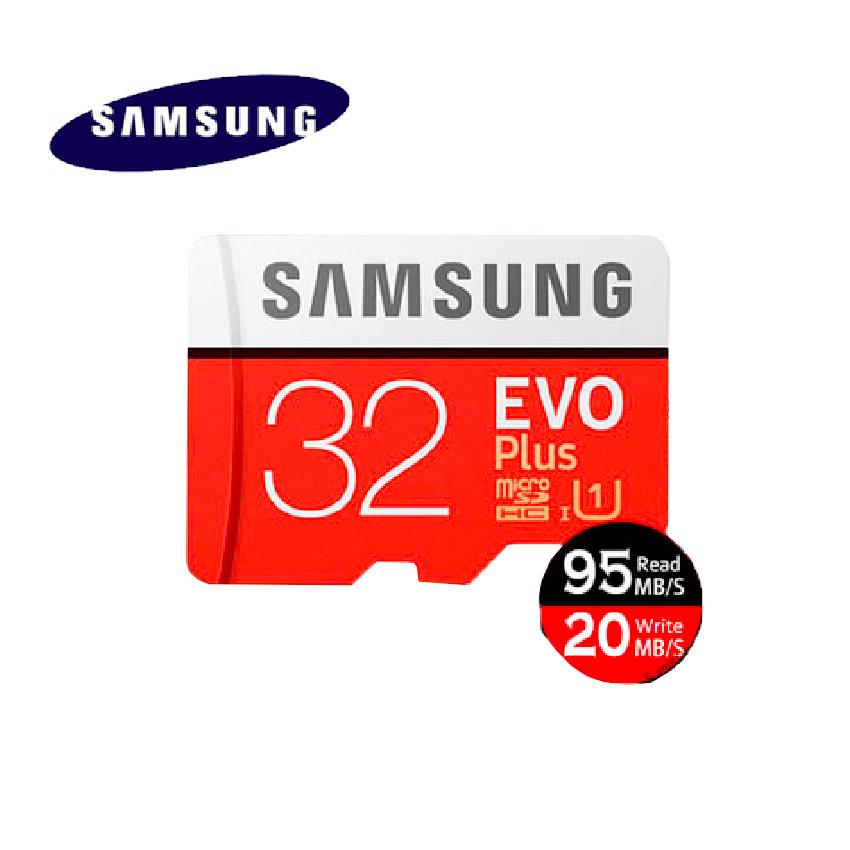 Review Terbaik Samsung Evo Plus Micro Sd Micro Sdhc Uhs I Class 10 32Gb Sd Adapter