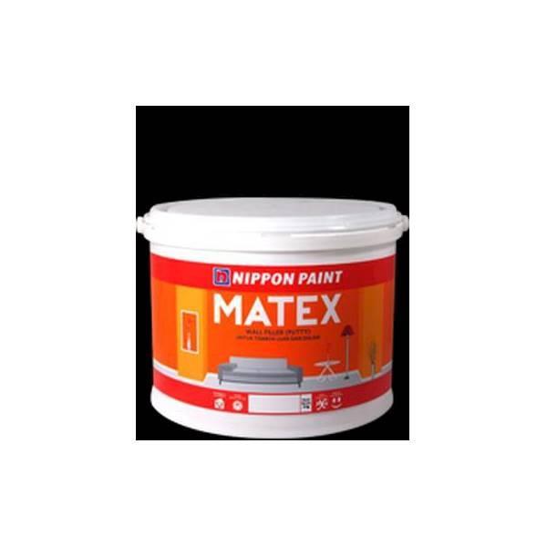 Matex 4kg Nippon Dempul Plamir Putty Tembok Asbes Beton Cat Dasar