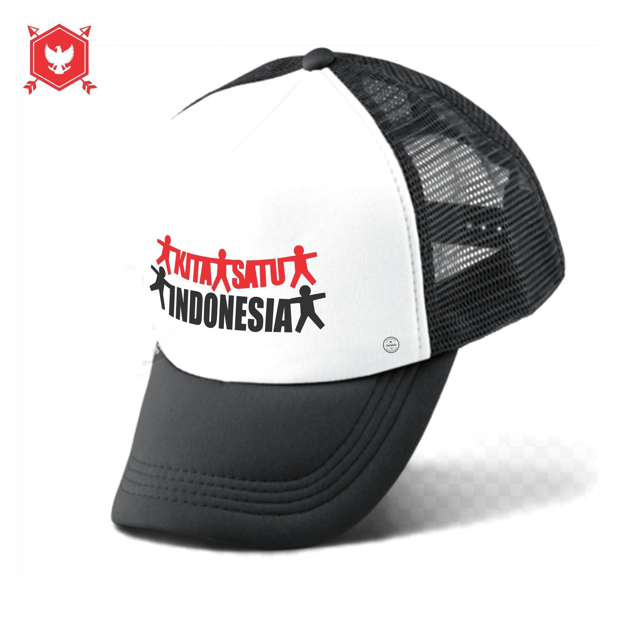 BISA COD Topi pria Topi Trucker Topi distro Premium Branded Original  baseball snapback Topi Jaring 1c0ea0708d