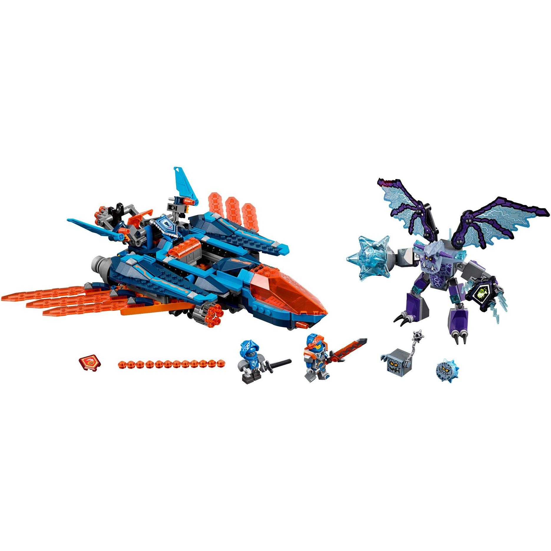 Detail Gambar Lego R Original NEXO KNIGHTS Clay s Falcon Fighter Blaster Terbaru
