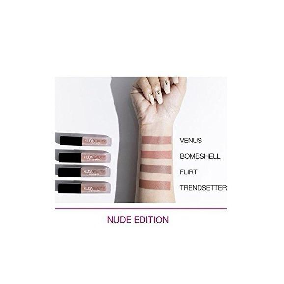 huda Beauty the nude edition liquid matte minis