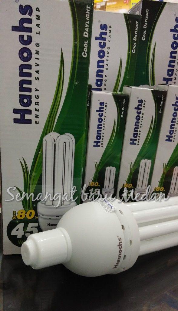 Detail Gambar HANNOCHS BOLA LAMPU HEMAT ENERGI 4U GARANSI 45 WATT Terbaru