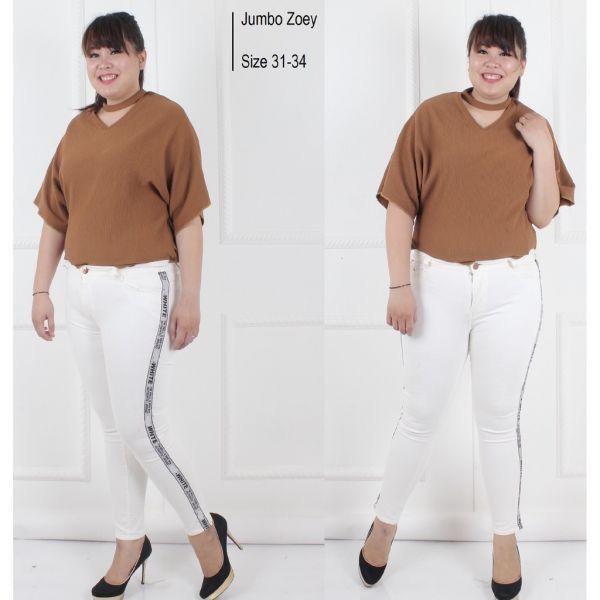 Celana Jeans Wanita Hopylovy - Zoey Celana Panjang Skinny Cewek Model Terbaru - 2 ...