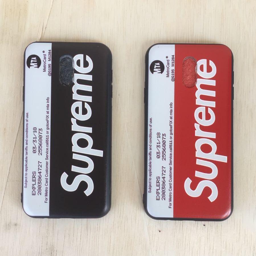 Case Cover Stylish Supreme For Samsung J3 Pro / J330 Luxury Cover Case -Random