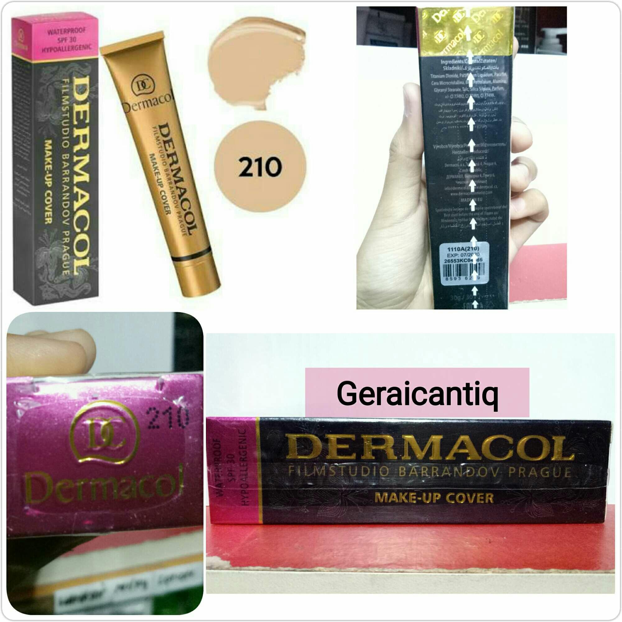 Dermacol Make Up Cover Foundation Spf 30 210 Produk Terbaik Wiki Harga Original 30g Hypoallergenic Concealer Rias Pengantin Natural Waterproff Coverage Makeup