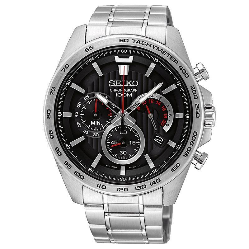 Spesifikasi Seiko Chronograph Jam Tangan Pria Silver Stainless Steel 992Bss Terbaik