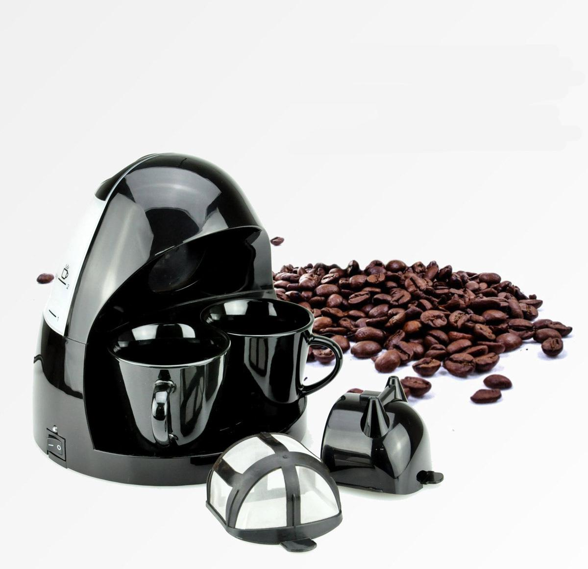 Automatic Coffee Maker with 2 Cups Coffee Machine For Home Kitchen European regulations .