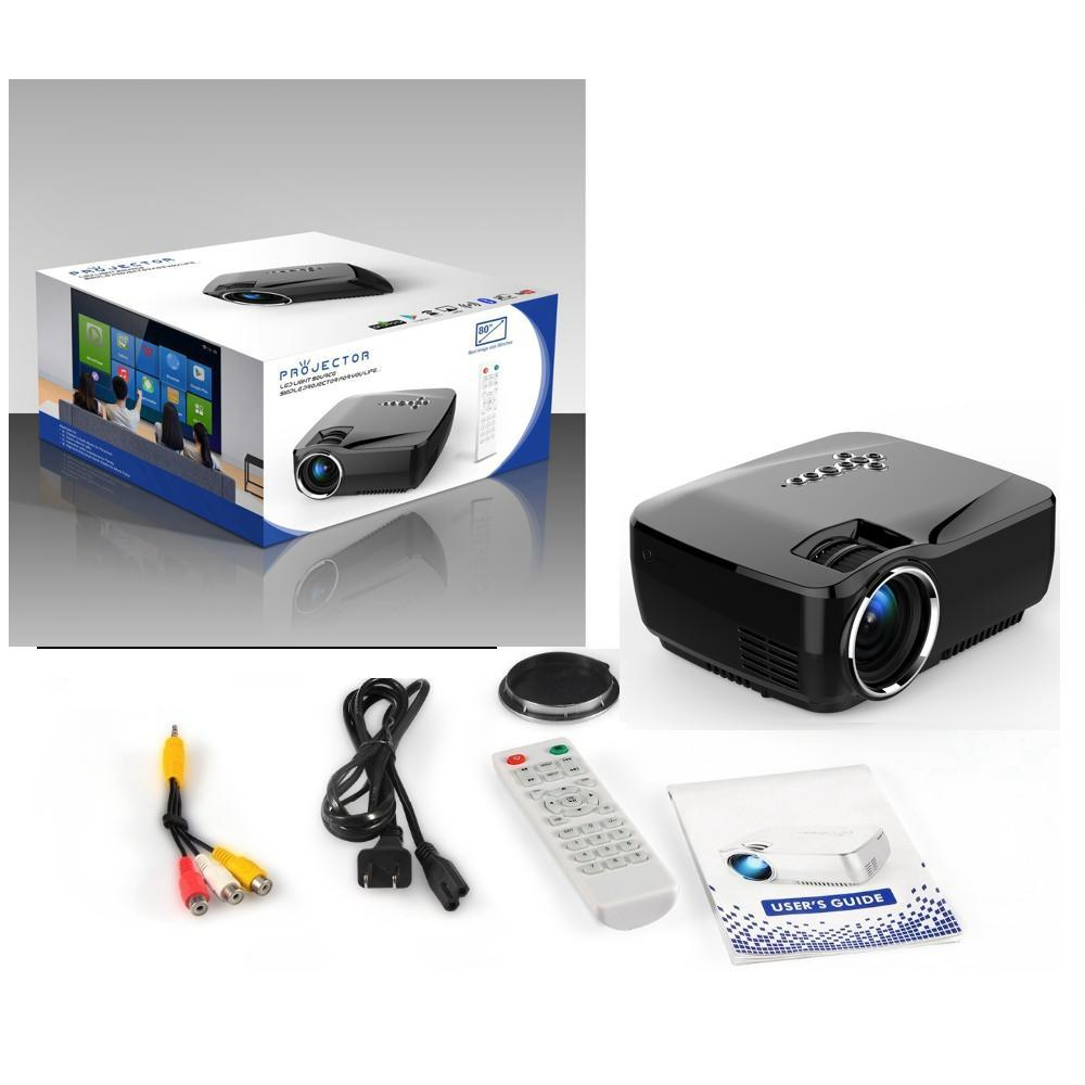 LED GP70UP Mini Projector with Android 4.4 1200 lms TV Tuner