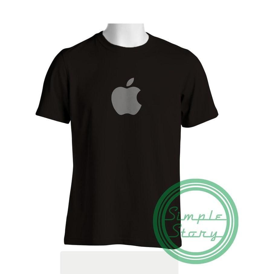 Kaos Tshirt Baju Combed 30S Distro Led Apple Jersey Futsal Murah Grade - Comjersey