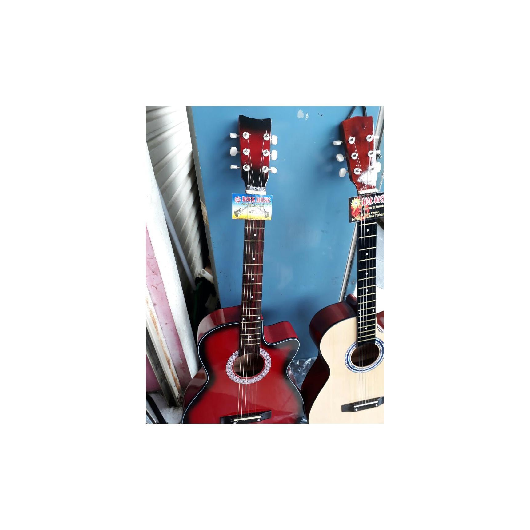 Free Ongkir Jakarta Gitar Akustik Lengkap