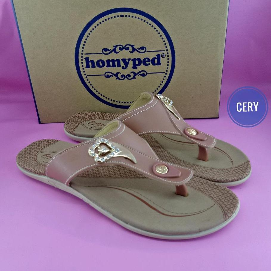 Homyped sandal flat wanita pamela c 22 36-40