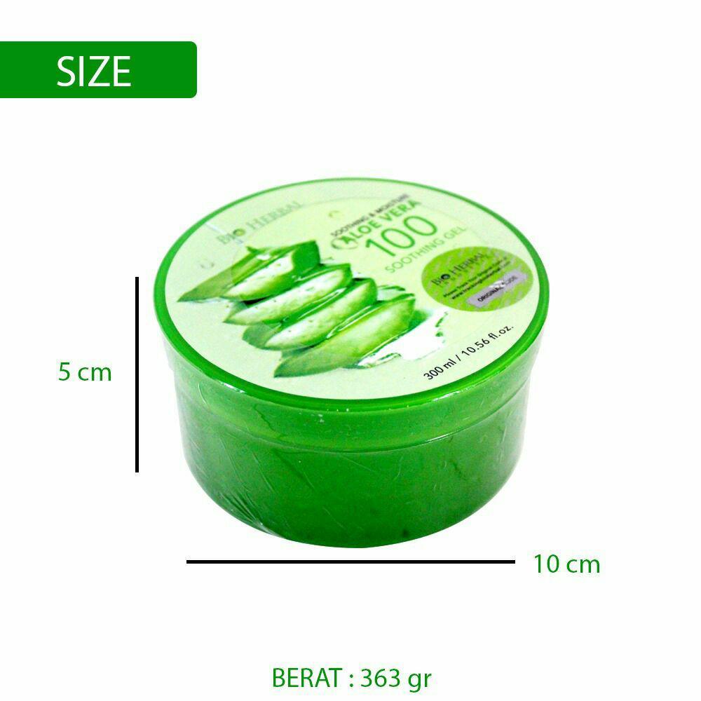 Fitur Bio Herbal Aloe Vera Soothing Gel Bpom Dan Harga Terbaru Ada Embos Nature Republic 300 Ml 2