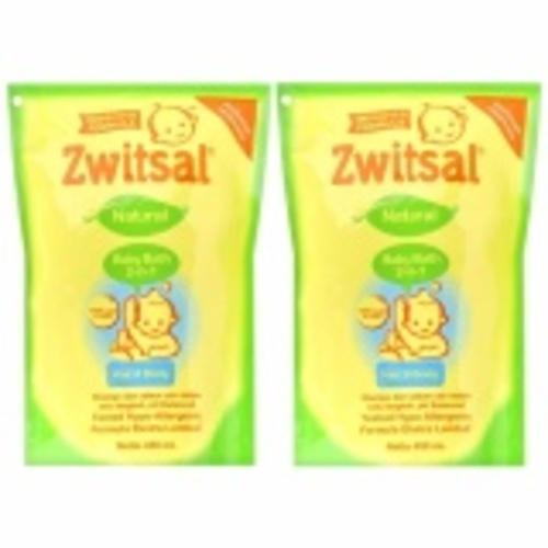 Jual Zwitsal Baby Bath 2In1 Hair Body 450Ml Pouch 2 Pcs Di Bawah Harga