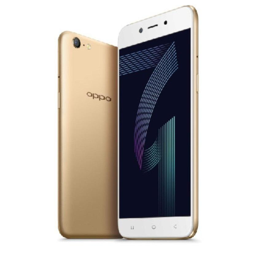 Oppo A71 2GB/16GB Gold – Smartphone Game Speedier (Garansi Resmi Oppo Indonesia, Cicilan 12 bulan, Free Ongkir)