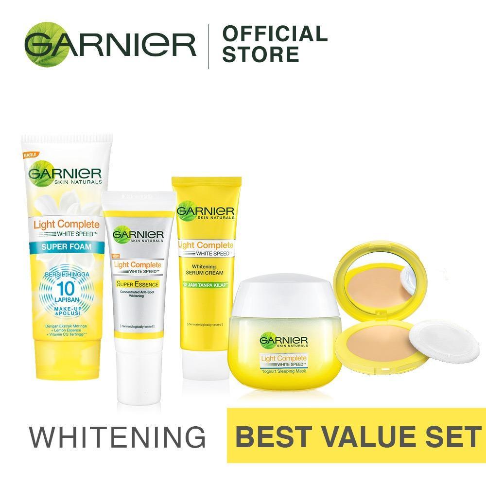 Garnier Light Complete Set Bebas Kilap Sepanjang Harit Terbaru