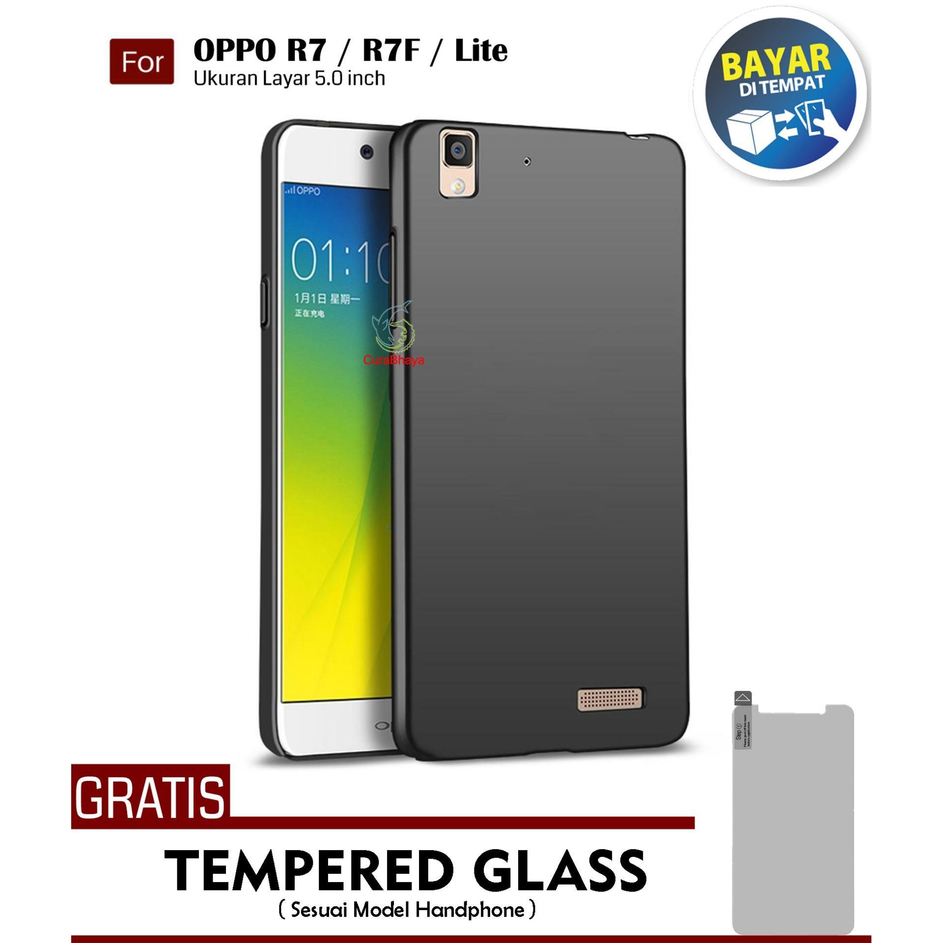 MidNight Oppo R7 / R7F / Lite | Slim Case Black Matte Softcase Premium Baby Skin