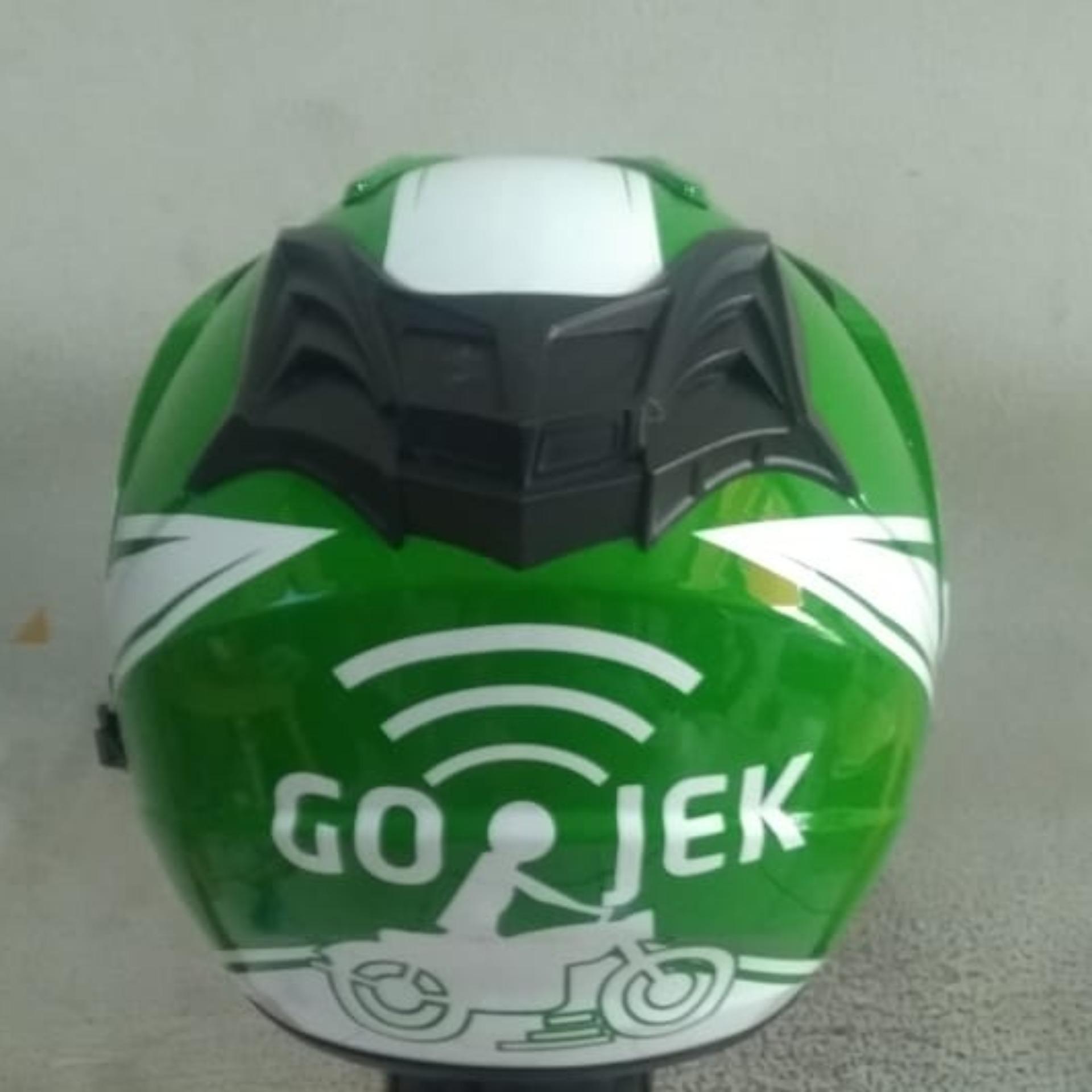 ... Helm Dewasa Ojek Online - GO - JEK - 3 ...