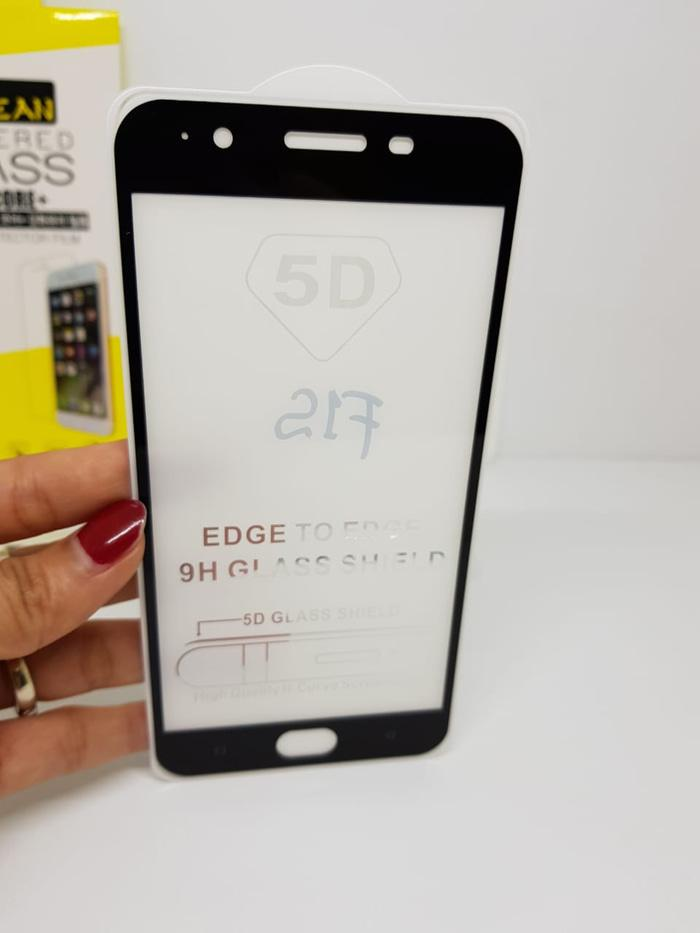 ... Full Cover Tempered Glass 5D Screen Protector Oppo F1S - 3
